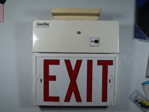 Exit Sign Party Light 171 Tm36usa Com
